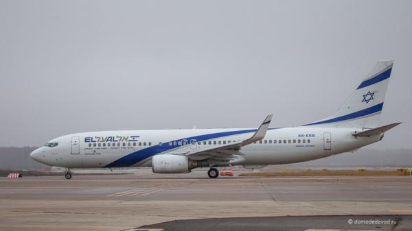 Самолет авиакомпании Эль Аль