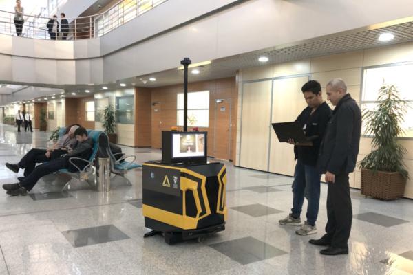 Роботы-клинеры в аэропорту Домодедово