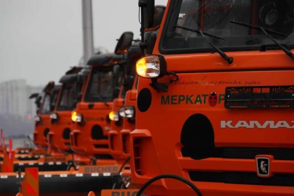 Новая уборочная техника в Домодедово