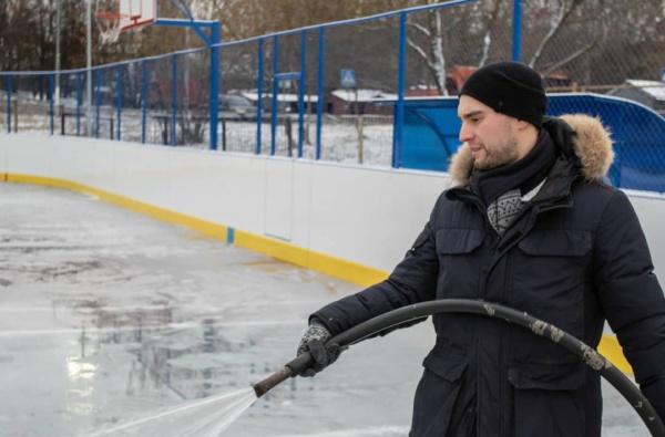 Заливка катков в Домодедово