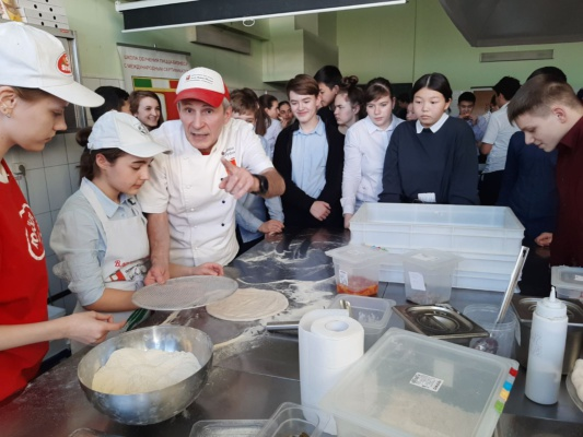 """Мастер- классы для школьников в колледже """"Московия"""""""
