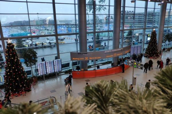 Аэропорт Домодедово готов к Новому году