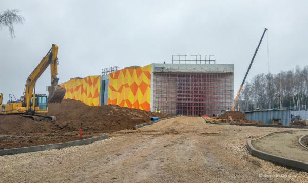 Новый торговый центр в Домодедово