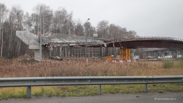 Развязка с ЦКАД в районе Домодедово