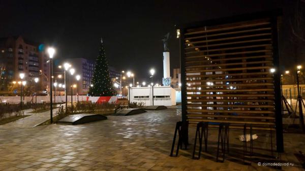Новая площадь для Нового года