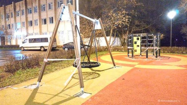 Детская площадка у Сбербанка