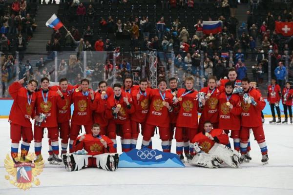 Юношеская сборная России по хоккею