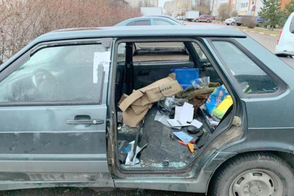 Розыск владельца брошенного автомобиля