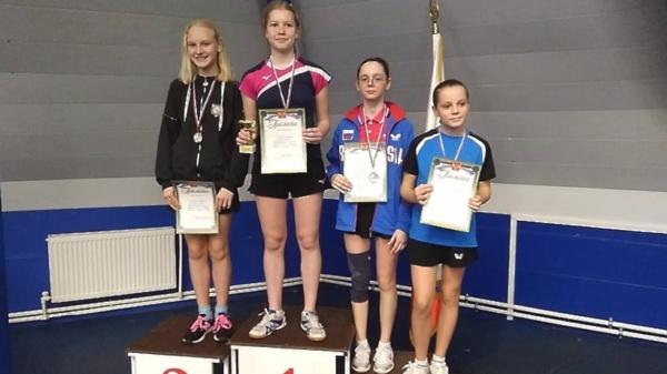 Спортсменка из Домодедово завоевала золотую медаль на турнире по настольному теннису