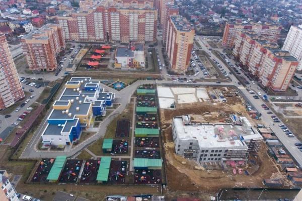 Строительство детского сада на улице Дружбы. Фото www.instagram.com/alexanderdvoinykh/