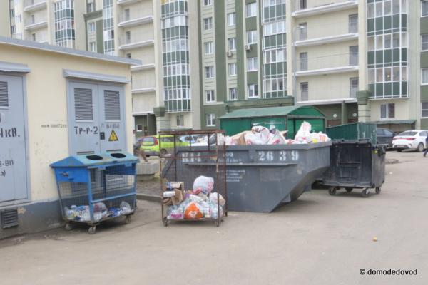 Мусорные площадки в Южном Домодедово