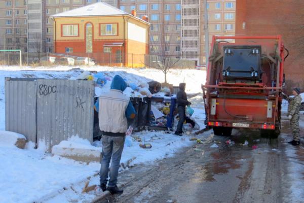Вывоз мусора в Домодедово