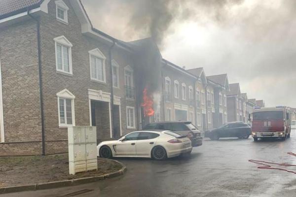 Пожар в «Домодедово Таун»
