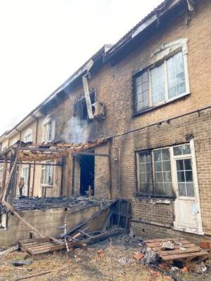 Пожар в Домодедово Таун