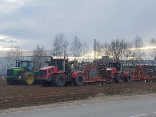 Весенне-полевые работы в Домодедово