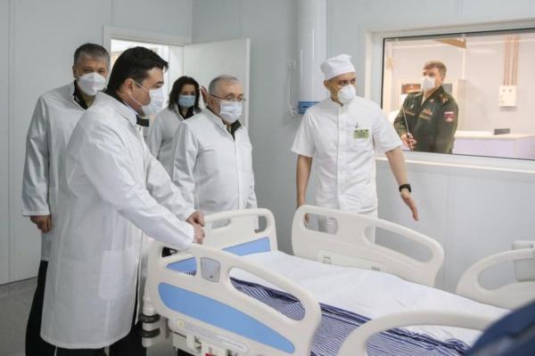 Военные врачи в Подмосковье