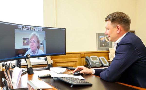 Глава г.о. Домодедово Александр Двойных провёл онлайн-встречу с руководителями учреждений культуры