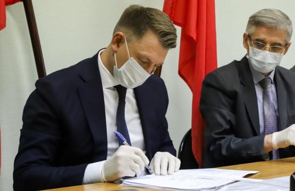 Глава Домодедово возглавил призывную комиссию