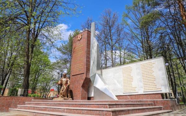 Новый Обелиск Славы открыли в микрорайоне Авиационный