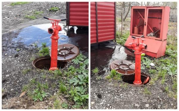 Проверка пожарных гидрантов в городском округе Домодедово