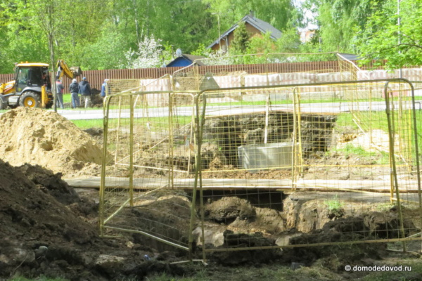 Раскопки в Центральном