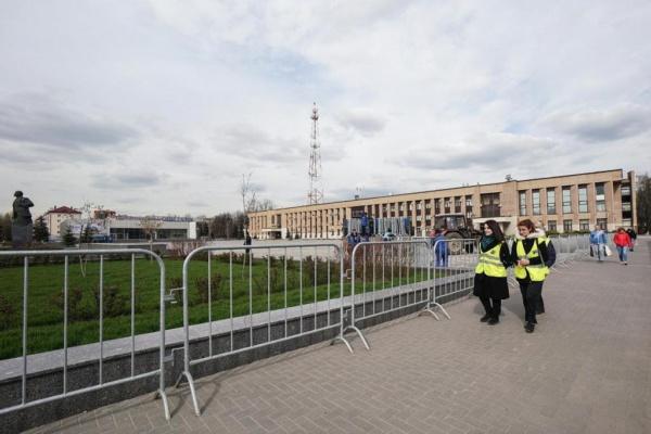 Площадь у администрации. Фото: domod.ru