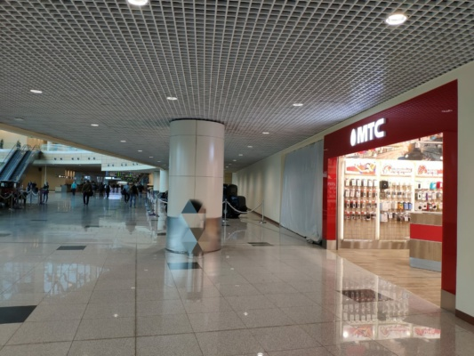В аэропорту Домодедово открылся салон сотового оператора МТС