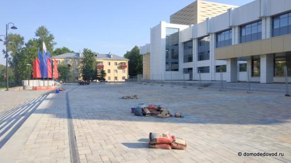 """ДК """"Мир"""": ещё не закончилась реконструкция, а уже начался ремонт"""