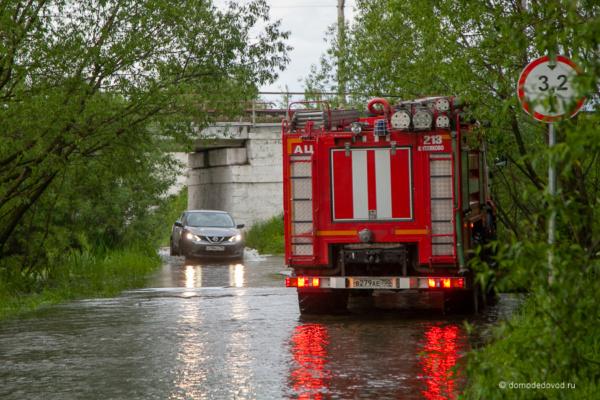 Подтопление в проколе в Буняково