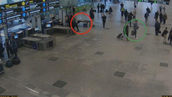 Вор в аэропорту Домодедово