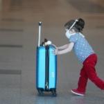 Дети в аэропорту Домодедово