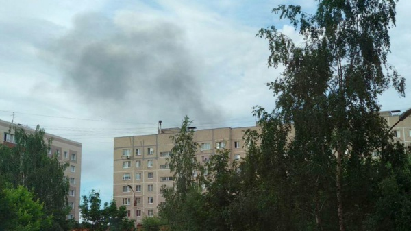 Дым в Домодедово