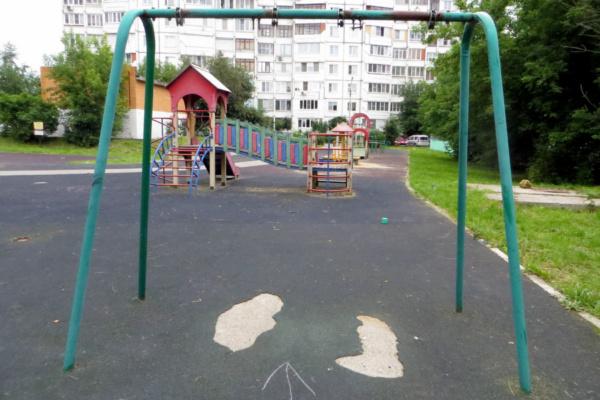 Детская площадка на Подольском проезде