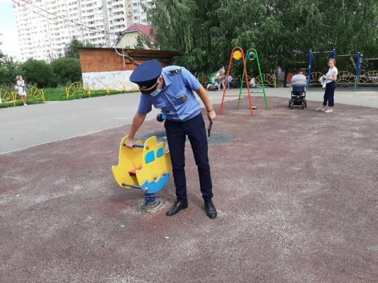 Госадмтехнадзор проверил 90 детских игровых площадок в Домодедово