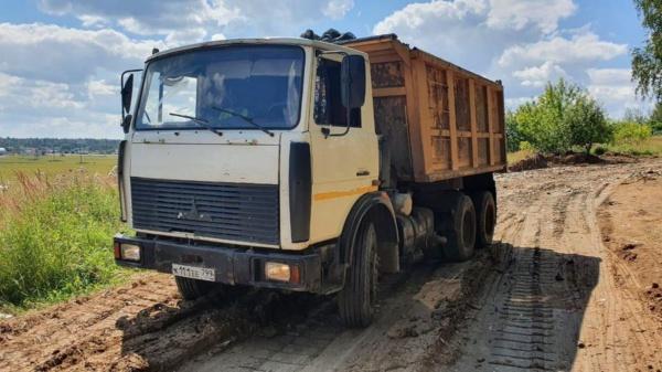 Сброс мусора в Шестово
