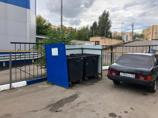 Проверка контейнерных площадок