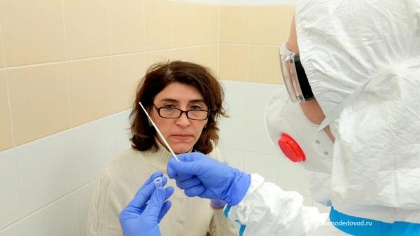 Экспресс-тестирование на коронавирус в аэропорту Домодедово