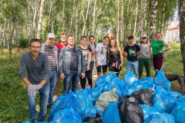 Уборка мусора в Ушмарском лесу