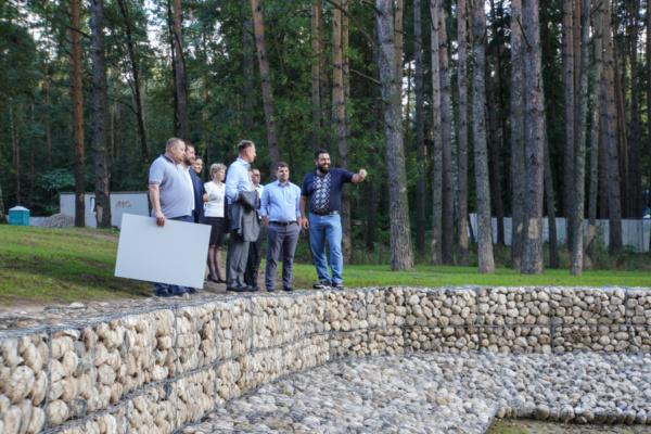 Завершены очередные этапы благоустройства набережной в парке «Ёлочки»