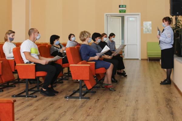 Полицейские в Домодедово провели рабочую встречу с педагогическим составом местной школы