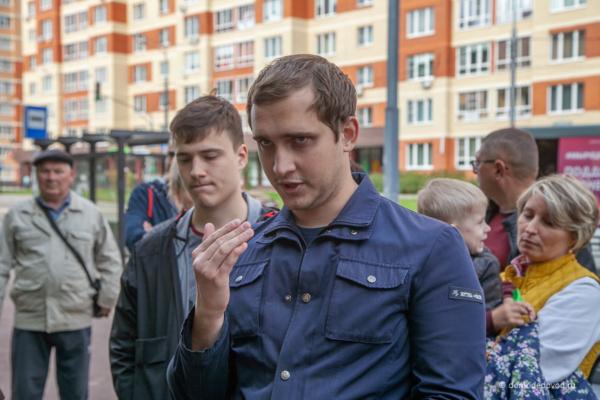 Встреча с жителями у «Городского леса»