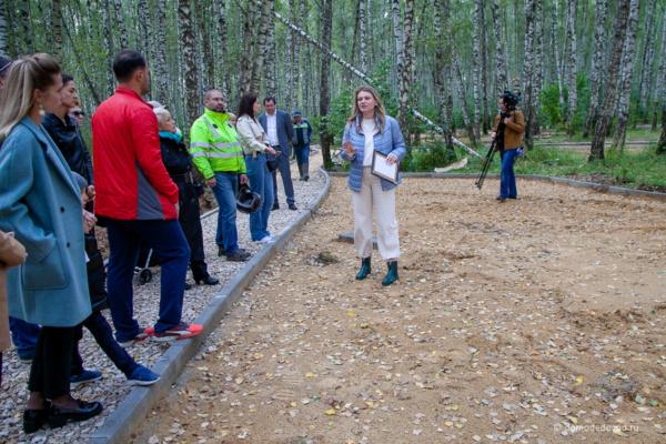 Березовая роща, она же будущий парк «Городской лес»