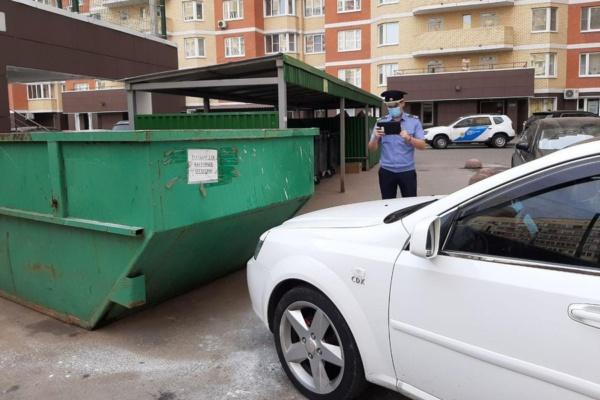 Помеха вывозу мусора