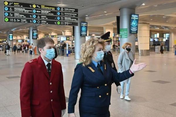 Рейд в аэропорту Домодедово