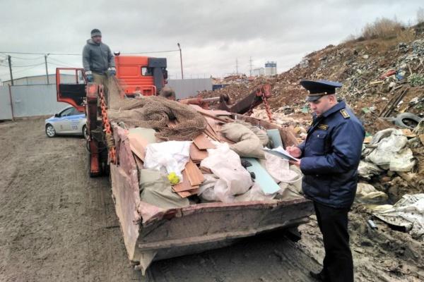 Предотвращен нелегальный сброс мусора