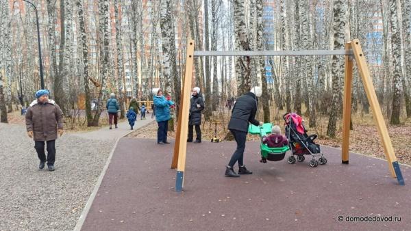 Осенняя прогулка в новом парке «Городской лес»