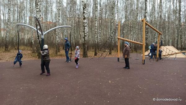 Новый парк в Домодедово