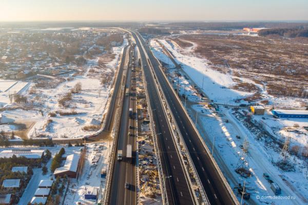 Участок ЦКАД и А-107 в городском округе Домодедово