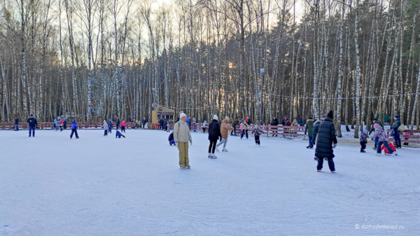 Каток в парке «Ёлочки»