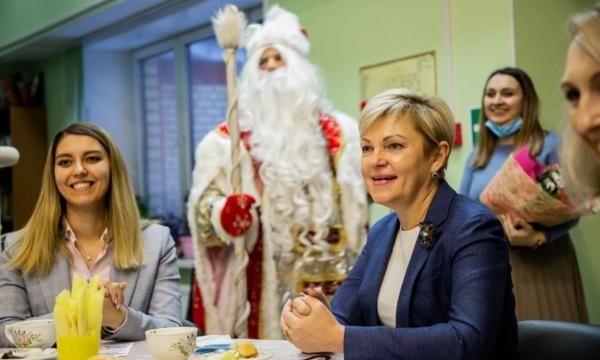 Встреча Начальника Управления образования Елены Болмазовой с победителями Всероссийского конкурса «Большая перемена»